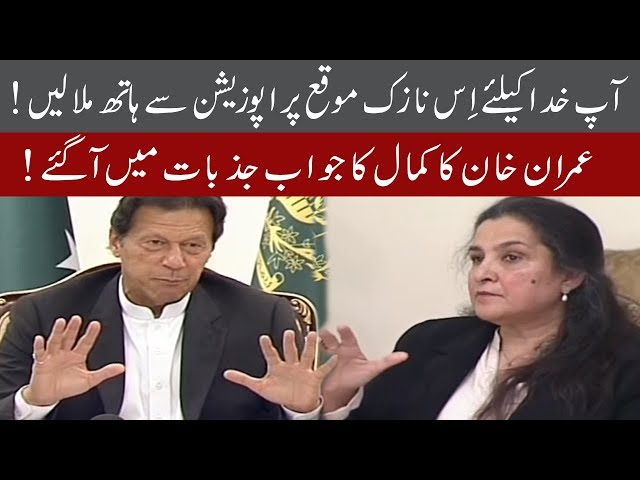 PM Imran khan befiting reply to Journalist Nasim Zehra on question | 92NewsHD