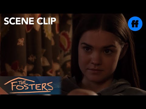 The Fosters | Season 5, Episode 6: Callie & Aaron Argue About The Protests | Freeform