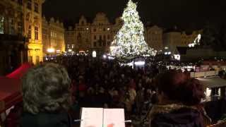 Video 2MS - Andělé (Staroměstské náměstí, Vánoce 2013)