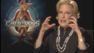 CATS & DOGS 2 Interviews With Bette Midler, James Marsden, Christina Applegate And Mr. Tinkles
