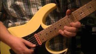 How to play the GUITAR SOLO to Photograph by Def Leppard on guitar by Mike Gross