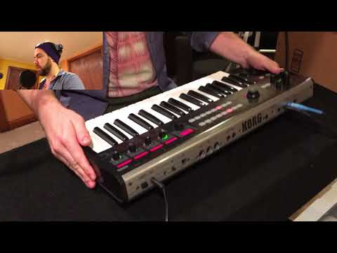 Korg R3 synthesizer review and sound demo