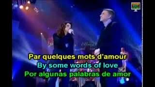 C'est ma vie Salvatore Adamo et Boulay English French Lyrics
