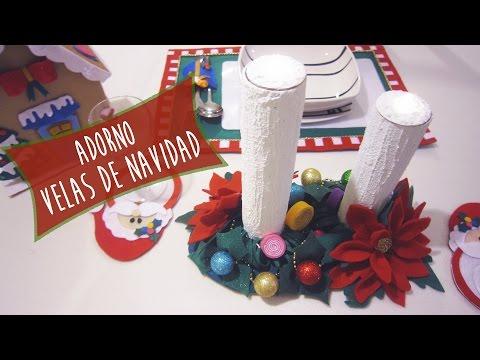 Velas Navideñas de Jabón: Ideas Decorar tu mesa en Navidad