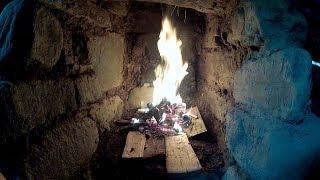 Stone And Mud Fireplace 2.0