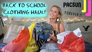 Huge Back To School Try-On Clothing Haul! // Urban Outfitters, American Eagle, Pacsun, Etc.