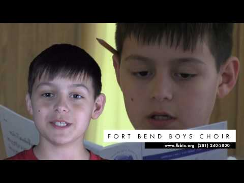 Fort Bend Boys Choir Recruitment Video #3