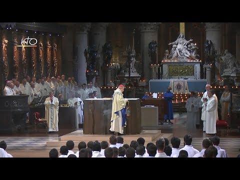 Messe solennelle de l'Immaculée Conception du 8 décembre 2017