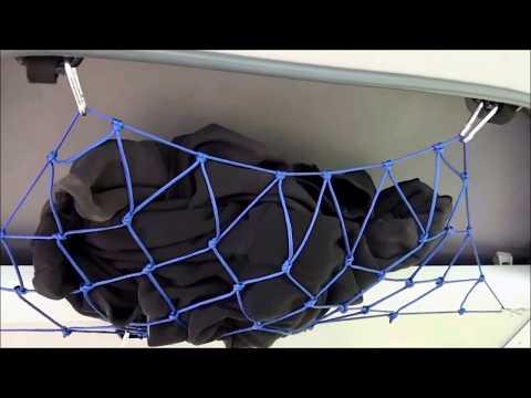 VW T4 Syncro - Refit Teil 26 - Gepäcknetz aus Paracord knüpfen
