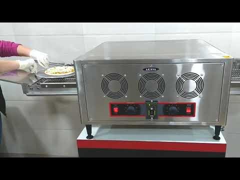Akasa Indian Electric Conveyor Pizza Oven 12'''' Pizza