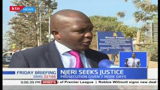 Sophia Njeri seeks justice after she was nabbed while recording cops