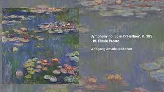 Symphony no. 35 in D major 'Haffner', K. 385