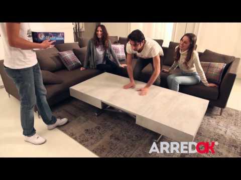 Tavolino Allungabile ed Elevabile New Cover Easyline | ArredOK