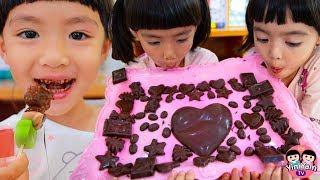 หนูยิ้มหนูแย้ม | ทำฟองดูช็อกโกแลต Chocolate Fondue
