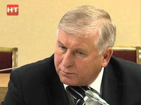 В правительстве региона говорили об экологической безопасности Великого Новгорода