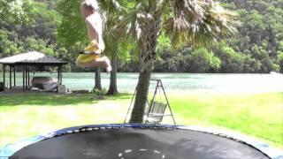 Trampoline Wakeboard Tricks