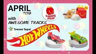 McD Happy Meals   Mainan Edisi Hotwheels April 2019