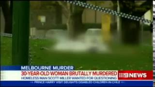 Homeless man murdered a woman in Mebourne, England