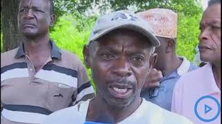Mwakirunge area residents cry foul over an alleged land grabbing of a