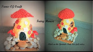 how to make a fairy house out of plastic bottles