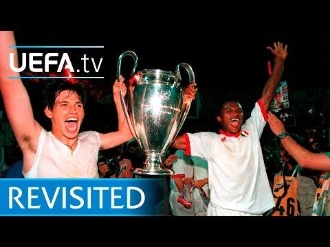 1994 UEFA Champions League final: Milan 4-0 Barcelona