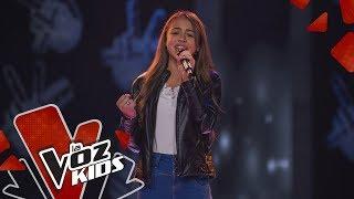 Angeline Canta Besos En Guerra – Audiciones A Ciegas   La Voz Kids Colombia 2019