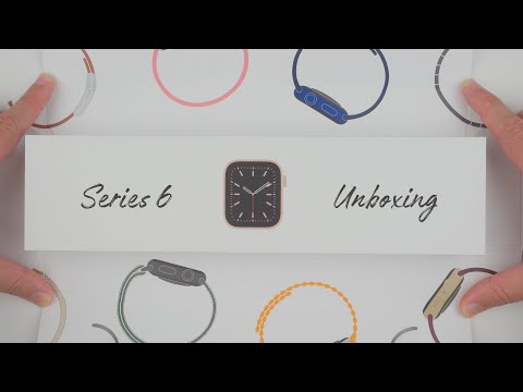 Apple Watch Series 6 Unboxing (Gold Aluminum, 44mm)
