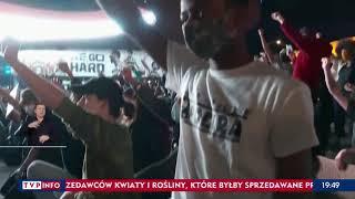 TVP sugeruje, że jeśli protesty nie ustaną trzeba będzie wstrzymać 500+