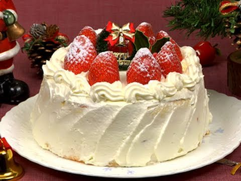 Video How to Make Christmas Cake (Strawberry Cake Recipe) クリスマスケーキ 作り方レシピ