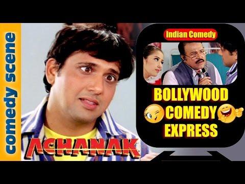 Govinda Comedy Scene {HD} | Bollywood Comedy Express | Achanak | Indian Comedy (видео)