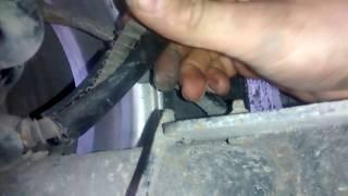 Чери Бит (Индис) Проблема с задним тормозом