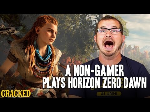 A Non-Gamer Plays Horizon Zero Dawn - Cracked Plays (Let's Play)