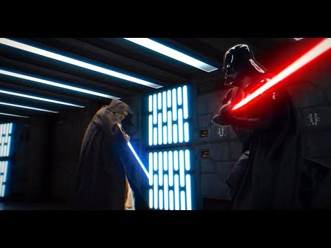Star Wars : Obi Wan vs Darth Vader V2.0