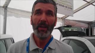 Rencontre avec Jean Claude LEMAIRE lors du salon du véhicule électrique et Hybride de Val d'Isèr