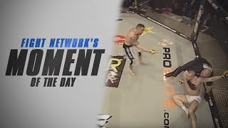 Ivan Serati Dominates Roman Webber at Cage Rage 25 | #TBT Moment of the Day