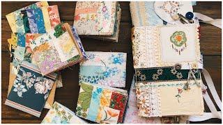 Soft cover journals | cookbooks + floral minis