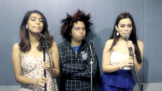 SOMEBODY THAT I USED TO KNOW cover with Rheena & Princess