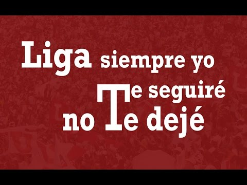"""Liga siempre yo te seguiré, no te dejé"" Barra: Muerte Blanca • Club: LDU"