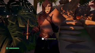 Sea of Thieves - Masked Stranger on Castaway Isle