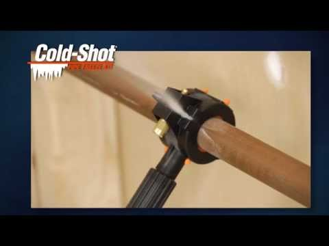 Cold-Shot Pipe Freeze Kit How-To Video