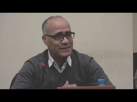 الأستاذ محمد حبيدة محاضرة ومناقشة المغرب النباتي الزراعة والأغذية قبل الاستعمار
