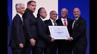 North America selected to host 2026 World Cup by Fifa nations - as it happened!