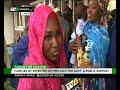 Senator Ashafa visits survivors of Lagos tanker fire in Gbagada General hospital