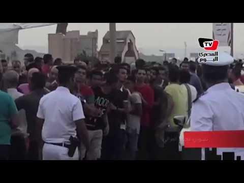 لحظة دخول الجماهير مباراة السوبر الإماراتي بين الأهلي والجزيرة