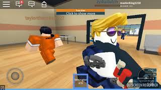 Играем в роблокс вместе с коляном жизнь преступника