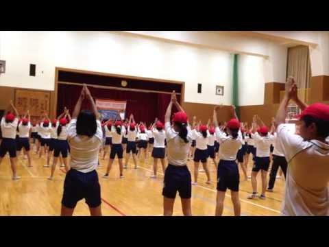 スクスク体操 in 神戸市立高羽小学校