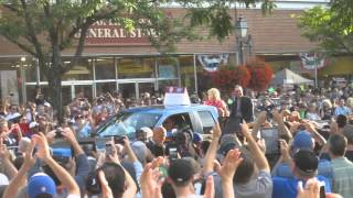 Greg Maddux Hall of Fame Parade 2014 Cooperstown
