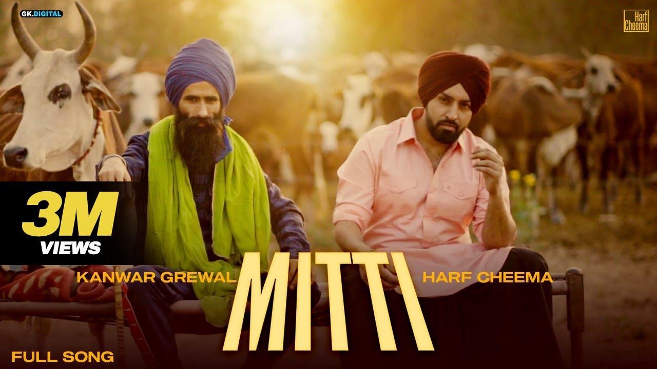 Mitti song lyrics Harf Cheema & Kanwar Grewal Latest Punjabi Songs 2021 GK Digital| Harf Cheema & Kanwar Grewal Lyrics