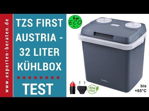 ☑ Thermo-Elektrische Kühlbox zum warmhalten oder kühlen ► von TZS First Austria ► Test