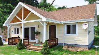 홍성 송월리 골드홈 GH-26 포치 목조주택 전원주택